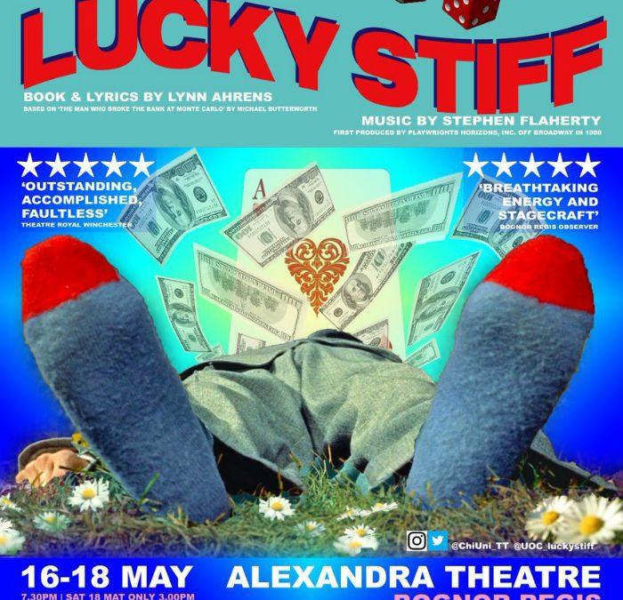 Chichester University student musical: Lucky Stiff